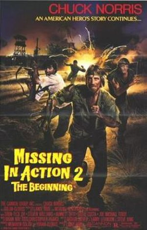 Missing in Action 2: The Beginning - Theatrical release poster