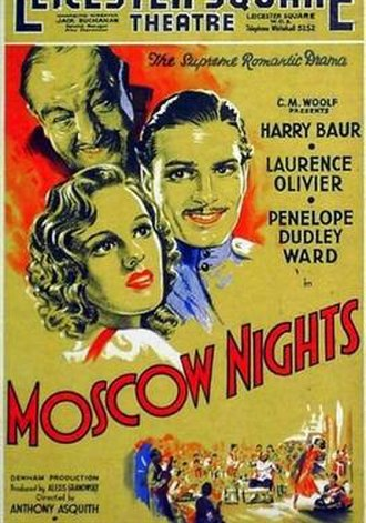 Moscow Nights (film) - Image: Moscow Nights (1935 film)