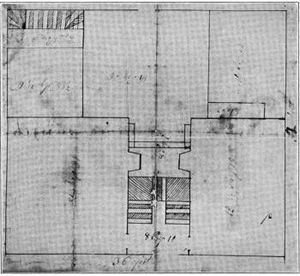 Richard Munday - Munday's simple plans for Ayrault House, 1739