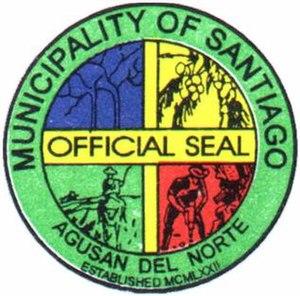 Santiago, Agusan del Norte - Image: Municipality of Santiago copy