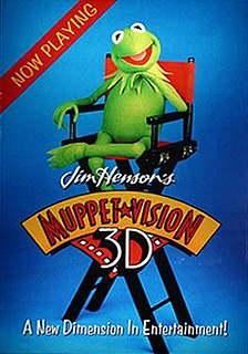 Muppet*Vision 3D 3D Attraction starring the Muppets directed by Jim Henson