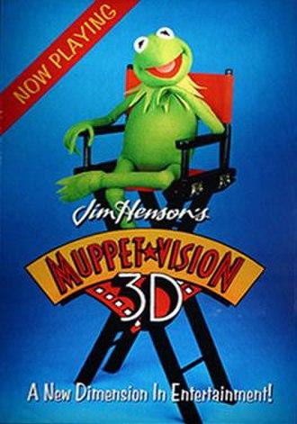 Muppet*Vision 3D - Image: Muppet*Vision 3D Poster
