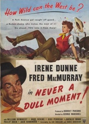 Never a Dull Moment (1950 film) - Image: Never A Dull Moment 1950