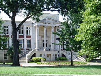 New College, University of Alabama - Carmichael Hall, home of New College (c. 1925)