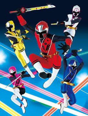 Shuriken Sentai Ninninger - The heroes of Shuriken Sentai Ninninger; their design is meant to appeal to important aspects of modern Japanese culture while their names harken back to the first Super Sentai series, Himitsu Sentai Gorenger.