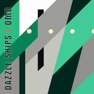 Dazzle Ships (album) - Image: OMD Dazzle Ships LP cover
