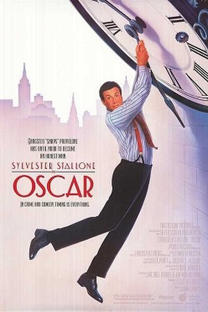 Oscar (1991 film) - Theatrical release poster