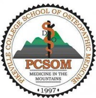 University of Pikeville Kentucky College of Osteopathic Medicine - Image: PCSOM seal