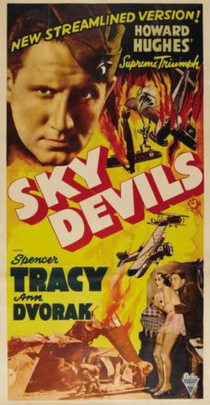 Sky Devils - Theatrical film poster