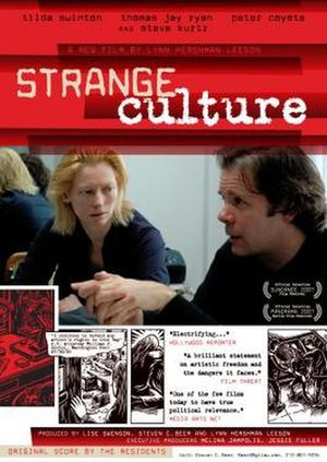 Strange Culture - Image: Poster of the movie Strange Culture