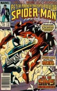 The Death of Jean DeWolff Story arc of Spider-Man comic