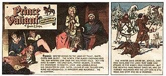 Prince Valiant - Hal Foster's Prince Valiant (February 26, 1950)