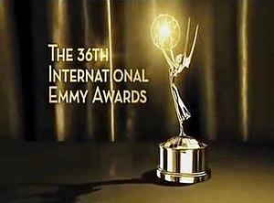 36th International Emmy Awards - Image: Promotional Poster for the 36th International Emmy Awards