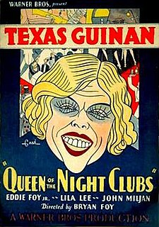 <i>Queen of the Night Clubs</i> 1929 film
