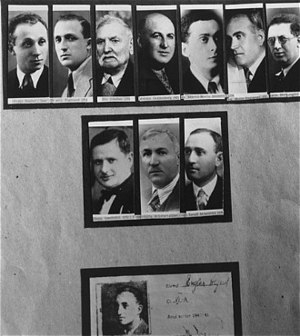 Iași pogrom - A series of photographs of Jews killed during the pogrom.