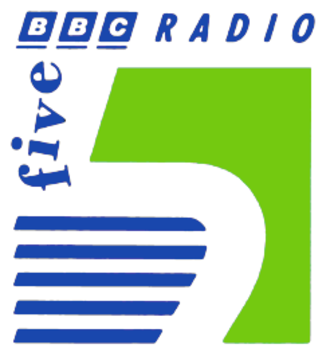 BBC Radio 5 (former) - BBC Radio 5 logo
