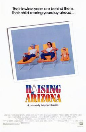 Raising Arizona - Theatrical release poster