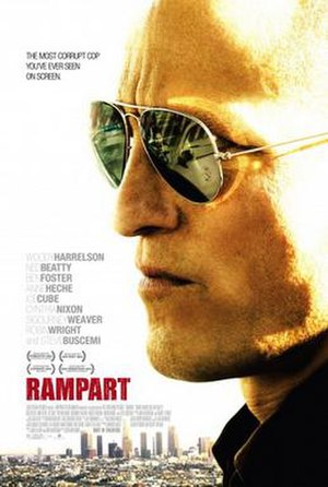 Rampart (film) - Theatrical release poster
