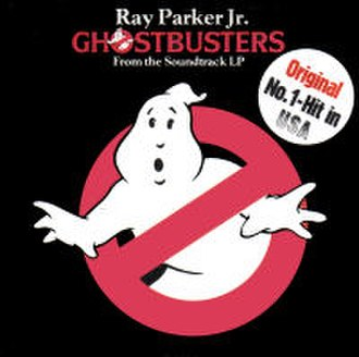 Ghostbusters (song) - Image: Ray Parker Jr Ghostbusters 7Inch Single Cover