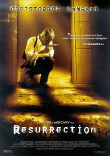 <i>Resurrection</i> (1999 film) 1999 American film directed by Russell Mulcahy