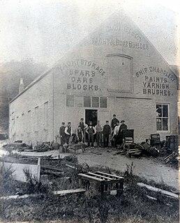 Alexander Robertson & Sons Former boatyard in Sandbank, Argyll and Bute, Scotland