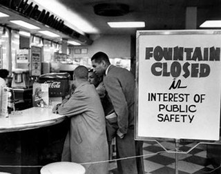 Nashville sit-ins nonviolent direct action campaign to end racial segregation at lunch counters in downtown Nashville, Tennessee