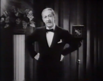 Roy Atwell - Roy Atwell, as the announcer in The Little Broadcast (1933)