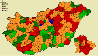 Hungarian parliamentary election, 1998 - Image: SMC1998