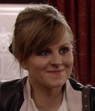 Sarah Platt - Tina O'Brien as Sarah Platt (2015)