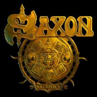 Sacrifice (Saxon album) - Image: Saxon Sacrifice