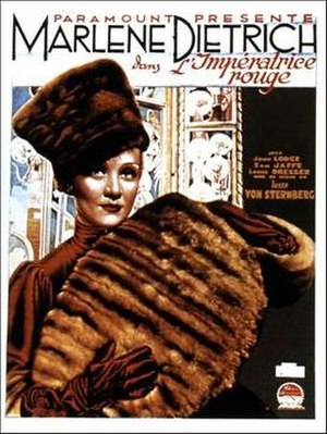 The Scarlet Empress - French film poster