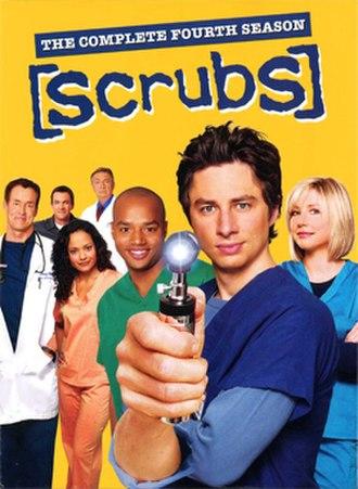 Scrubs (season 4) - Image: Scrubs s 4 dvd