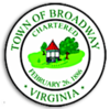 Official seal of Broadway, Virginia