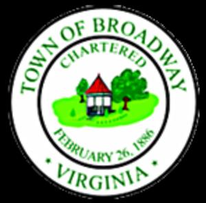 Broadway, Virginia - Image: Seal of Broadway, Virginia