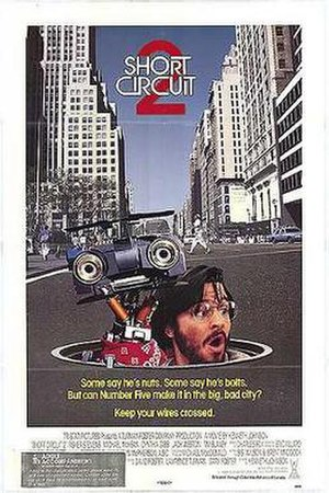 Short Circuit 2 - Promotional one-sheet poster.