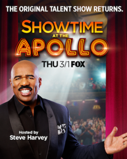<i>Showtime at the Apollo</i> television series