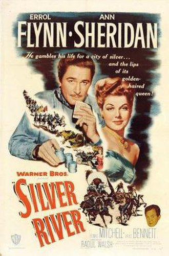 Silver River (film) - Theatrical poster