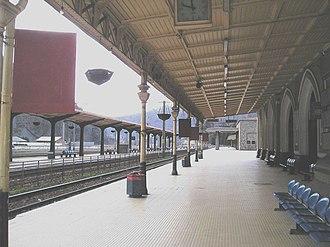 Sinaia railway station - Image: Sinaiatrainstation 3
