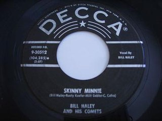 Skinny Minnie song performed by Tony Sheridan
