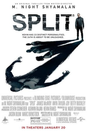 Split (2016 American film) - Theatrical release poster