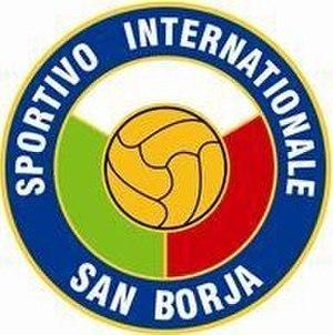 Circolo Sportivo Internazionale San Borja - Image: Sportivo Internationale