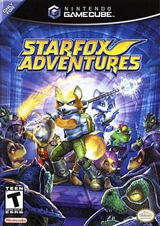 <i>Star Fox Adventures</i> 2002 video game for the GameCube