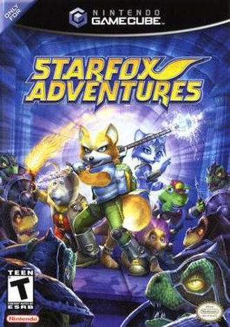Star Fox Adventures - North American cover art