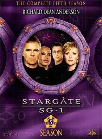Stargate SG-1 (season 5) - DVD cover