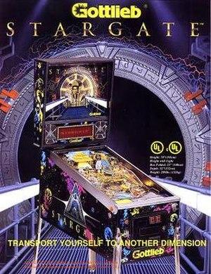 Stargate (pinball) - Image: Stargate pinball flyer