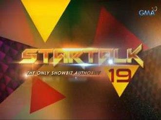 Startalk (Philippine TV program) - Title card (2014–2015)
