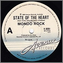 State of the Heart (song) - Wikipedia