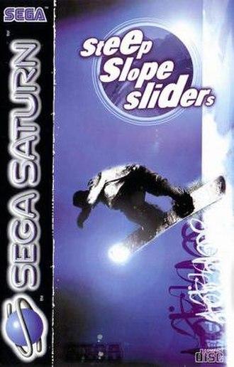 Steep Slope Sliders - European Sega Saturn cover art