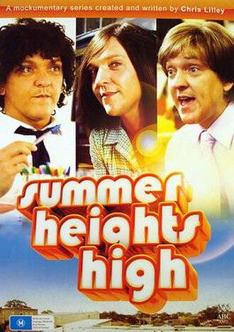 Summer Heights High - Image: Summer Heights High DVD