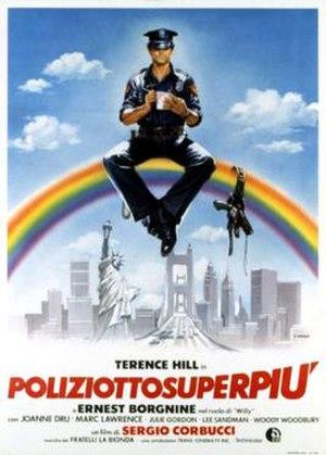 Super Fuzz - Italian theatrical release poster by Renato Casaro